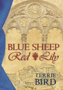 blue-sheep-red-lily